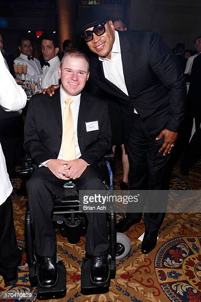 Wish Kid and LL Cool J attend 'An Evening of Wishes' MakeAWish Metro New York's 30th Anniversary Gala at Cipriani Wall Street on June 13 2013 in New...