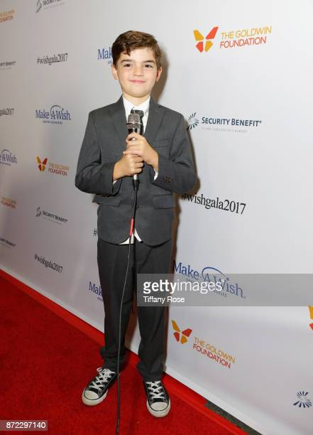 Wish Kid on the red carpet at the 2017 Make a Wish Gala on November 9 2017 in Los Angeles California
