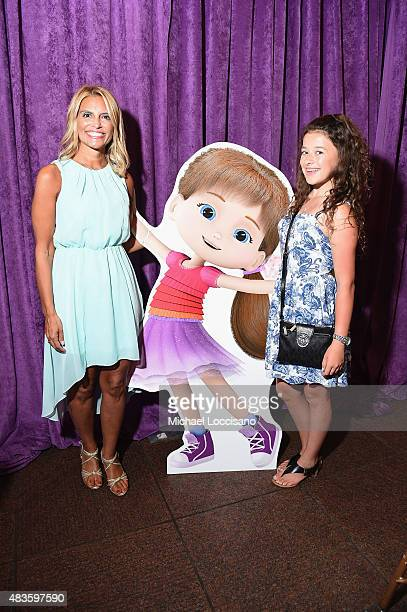 'Wishenpoof' creator Angela Santomero and actress Addison Holley attend the premiere screening event for Amazon Original Kids Series 'Wishenpoof' on...