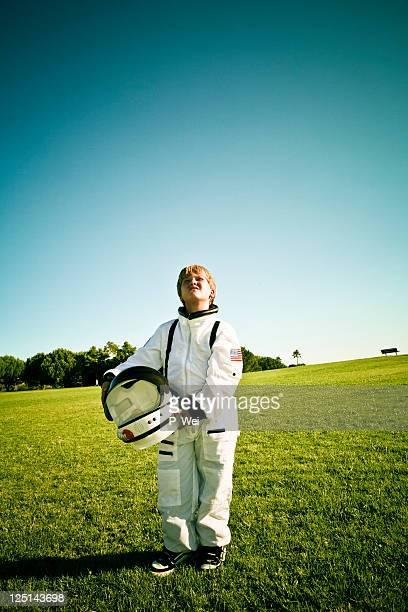 Wunsch, verliebt zu sein ein astronaut