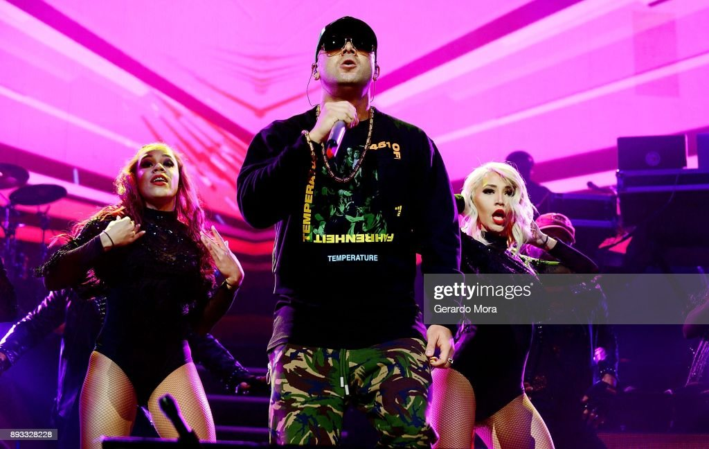 Ozuna And Wisin In Concert - Orlando, Florida