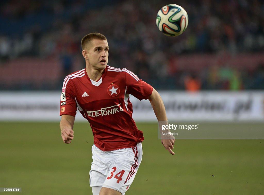 Wisla beats Cracovia (2: 1) in Krakow's Derby match : News Photo