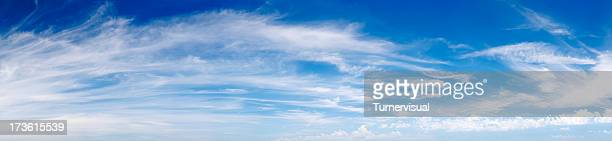 Wispy Cloud Panorama