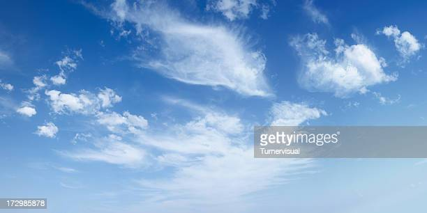 wispy clouds xxl - 50 megapixel - cloud sky stock pictures, royalty-free photos & images