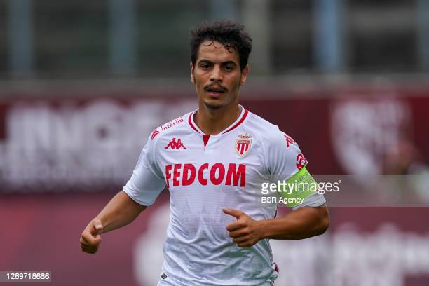 Wissam Ben Yedder of AS Monaco during the Ligue 1 match between FC Metz and AS Monaco on August 30, 2020 in Metz, France.