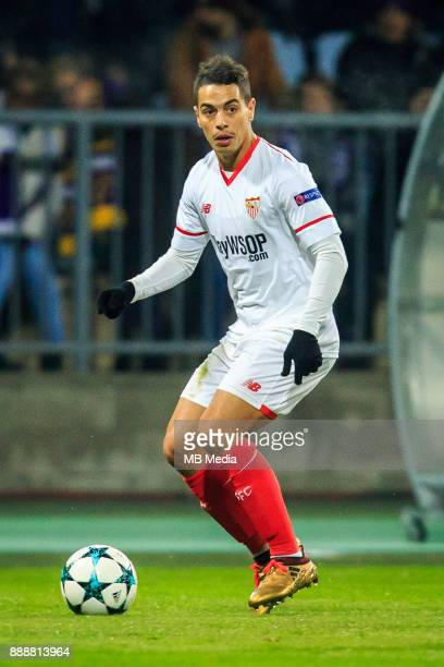 Wissam Ben Yedder of FC Sevilla during Group E football match between NK Maribor and FC Sevilla in 6th Round of UEFA Champions League on December 6...