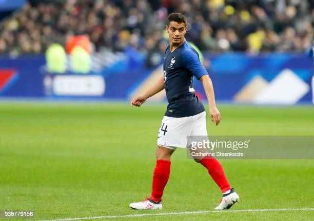Wissam Ben Yedder of France looks on during the international friendly match between France and Colombia at Stade de France on March 23 2018 in Paris...