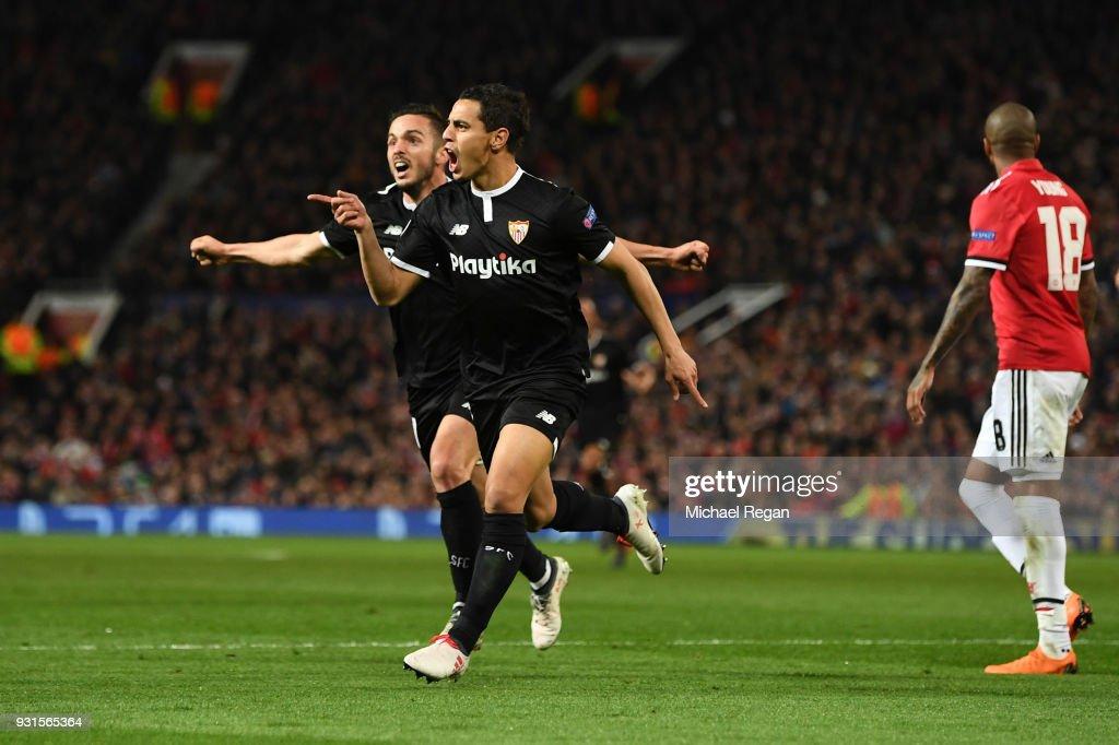 Manchester United v Sevilla FC  - UEFA Champions League Round of 16: Second Leg : Nachrichtenfoto