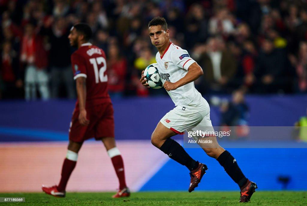 Sevilla FC v Liverpool FC - UEFA Champions League : News Photo