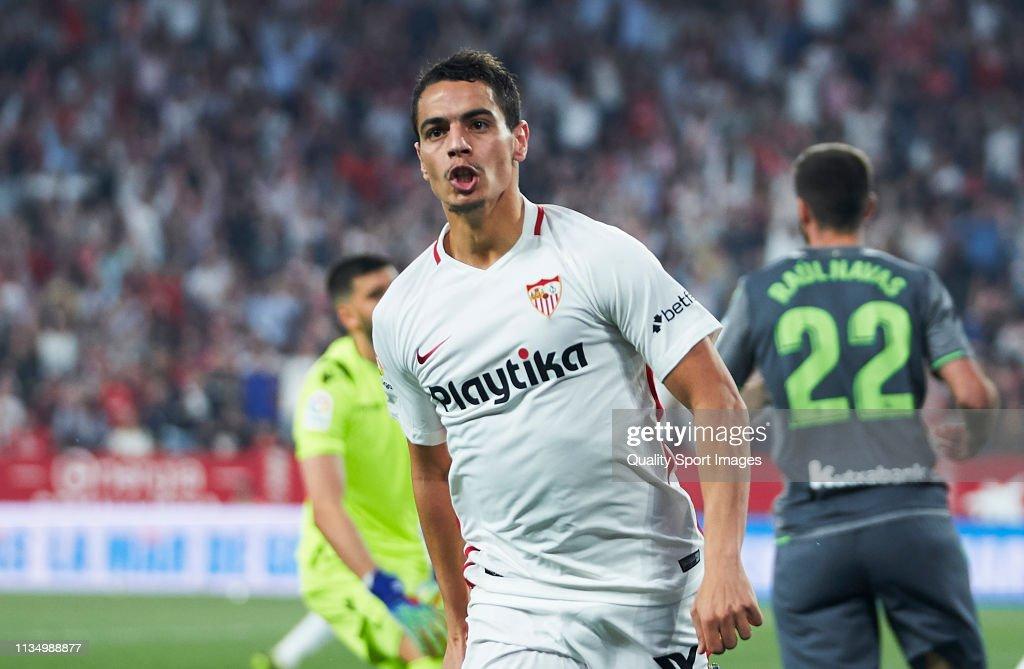 Sevilla FC v Real Sociedad - La Liga : News Photo