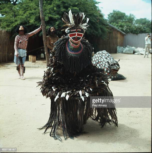 Witch doctor in Bulawayo, Rhodesia .