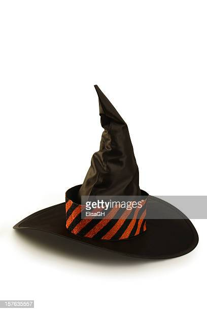 witch hat - wizard stock pictures, royalty-free photos & images