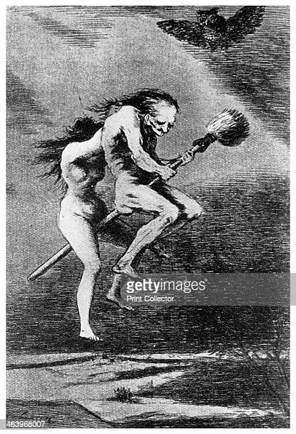 witches c1799 A print from Ideas a volume about the origin and early history of many things common and less common essential and inessential by...