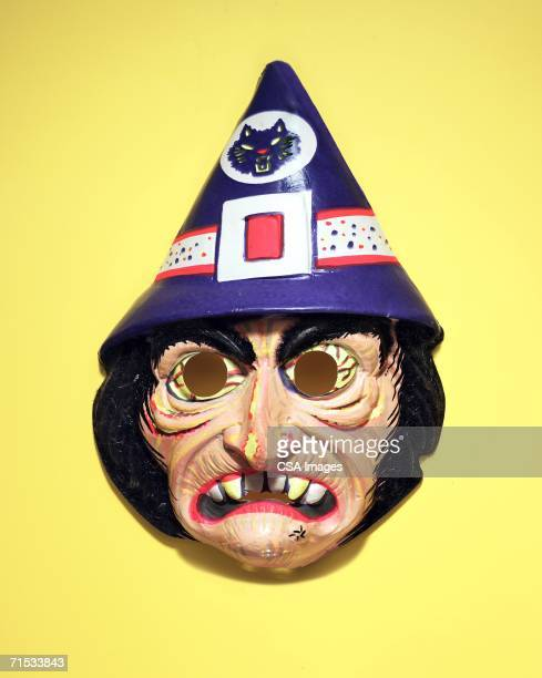 witch mask - ugly witches stock photos and pictures