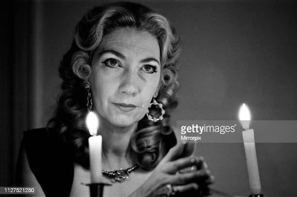 Witch Mrs Patricia Crowther High Priestess of the Moon Goddess pictured at her Sheffield home 8th December 1971