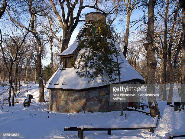 Witch's Hut In Winter