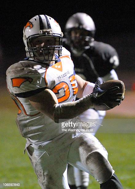 With 410 left on clock Briar Woods Michael Brownlee scores a touchdown November 5 2010