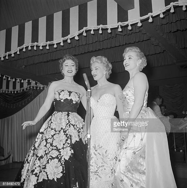 With a byplay of songs and personal anecdotes the three Gabor sisters revealed the inside story of their personal lives Monday night at their opening...
