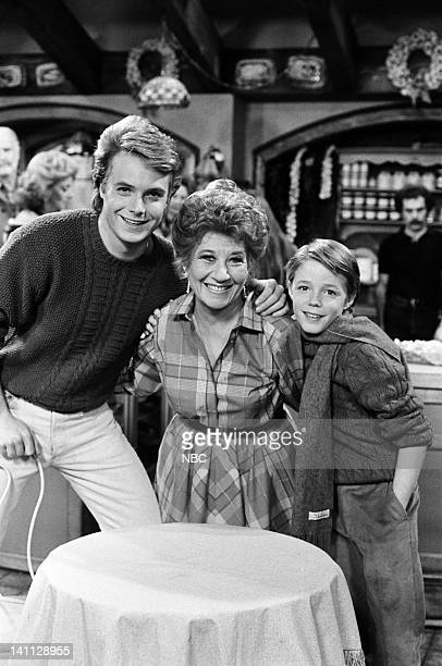 LIFE With a Little Help from My Friends Episode 18 Pictured Ryan Cassidy as Kevin Metcalf Charlotte Rae as Edna Garrett Mackenzie Astin as Andy...
