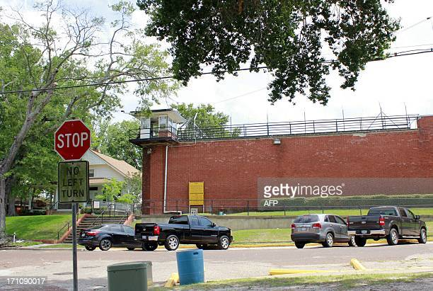USJUSTICEEXECUTION500th == The annex where the death chamber is located is pictured on May 21 2013 in Huntsville Texas one of the seven prison units...