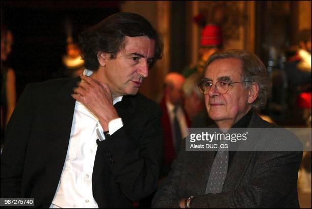 With Bernard Pivot