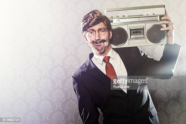 CEO With Boombox Stereo