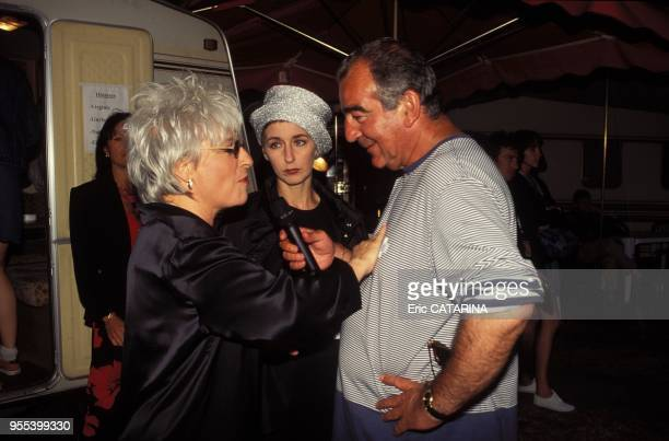 with Catherine Lara and Enzo Enzo Francofolies 1996