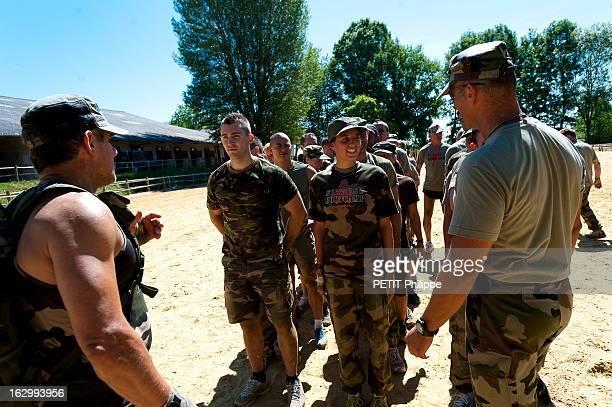 With Charline Picon At The Bootcamp Of Club Med In Pompadour Le bootcamp est une discipline inspirée des entraînements des Marines américains pour...