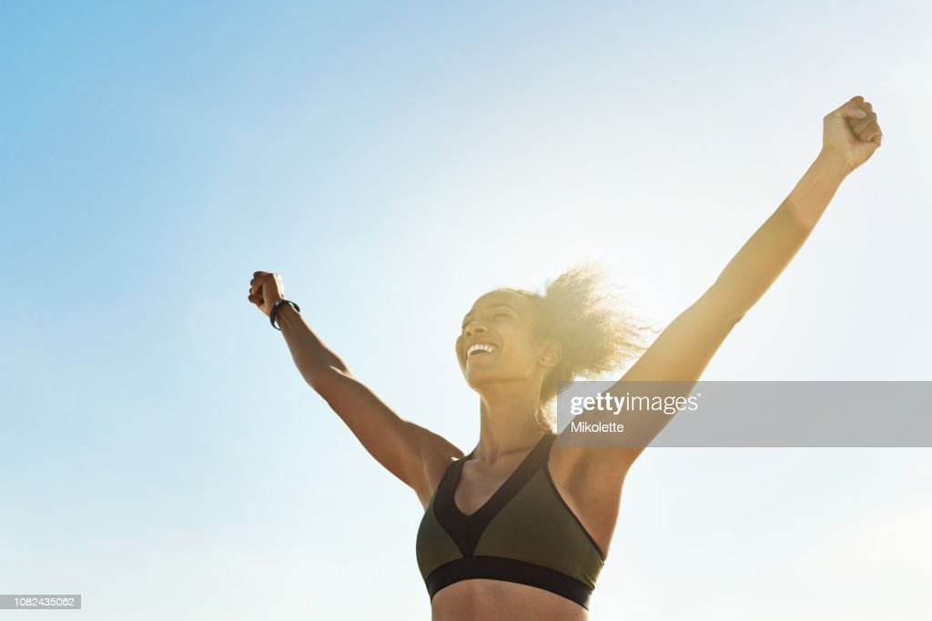 With determination anything is possible : Stock Photo