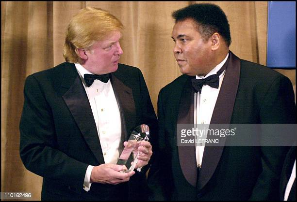 With Donald J Trump president and chief executive officer of the Trump organization in New York United States on March 14 2001