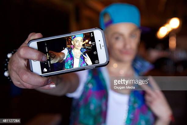 With Frankie Grande -- Los Angeles -- Pictured: Frankie Grande --