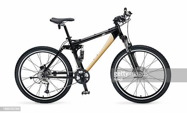 mb with full clipping path - mountain bike stock pictures, royalty-free photos & images