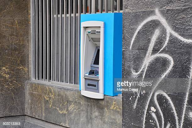 ATM with Graffiti in Lima, Peru