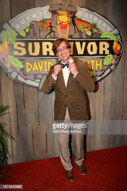 'With Great Power Comes Great Responsibility' Pictured on the Red Carpet Christian Hubicki The finale of Survivor David vs Goliath twohour season...