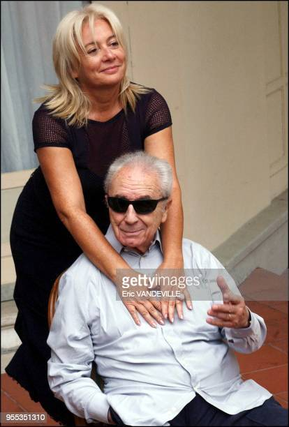With his wife Enrica Fico
