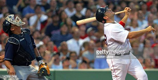 With Jason Varitek on the disabled list things might not be looking up for the Red Sox behind the plate which is where Doug Mirabelli right and...