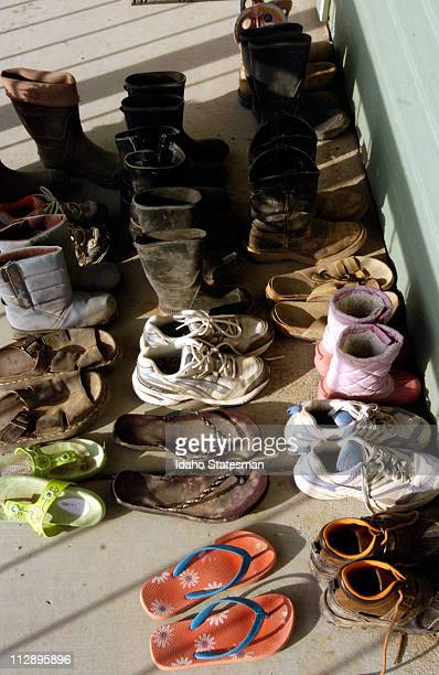 With nine children there are plenty of shoes to fill in the Walsh family household in Boise Idaho