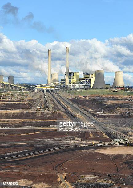 AustraliaEnvironmentClimate Conveyor belts carry coal from the open cut mine to the Loy Yang B power station in the Latrobe Valley 150km east of...
