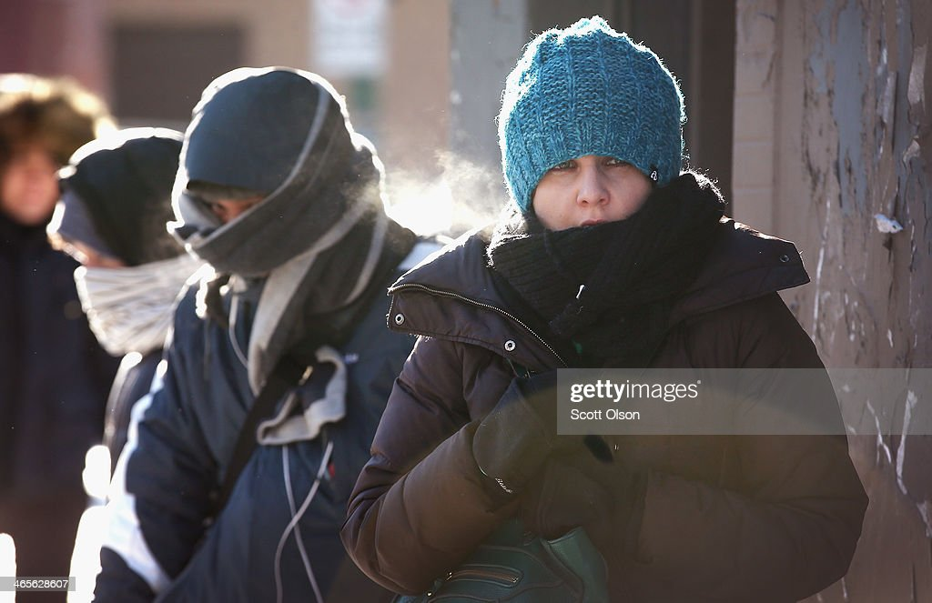 Another Extreme Cold Front Moves Through Midwest : News Photo