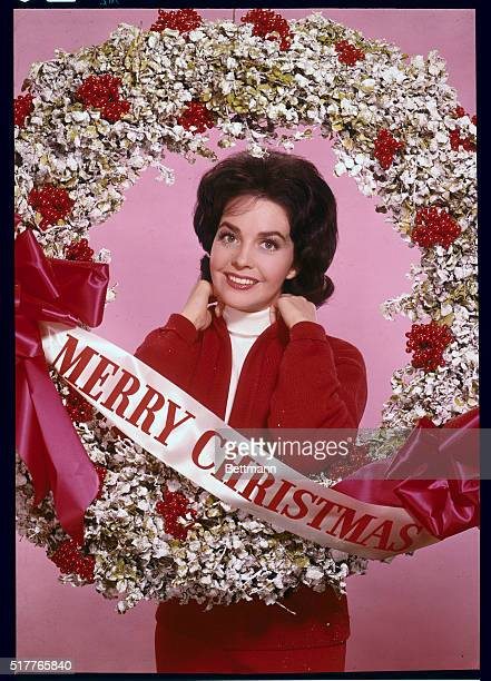 With the Bride's Best Wishes For the the season of wreaths and mistletoe from Santa's most beautiful helper Myrna Fahey star of MetroGoldwynMayer...