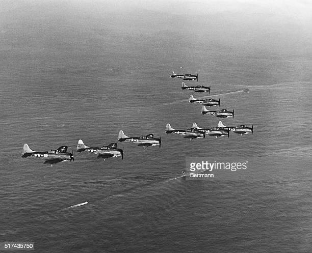 With the completion of the 5936th plane production of Douglas Dauntless dive bombers ceased on July 21 thus forecasting the close of one of the most...