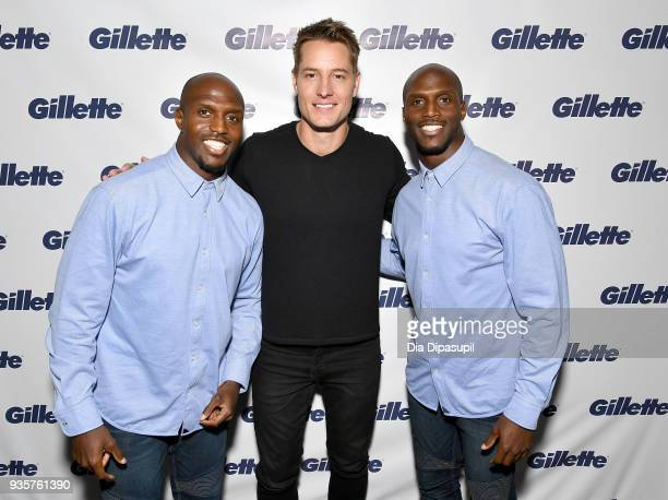With the help of host Justin Hartley Devin McCourty and Jason McCourty Gillette shares the top grooming trends of 2018 with a declaration that 'one...