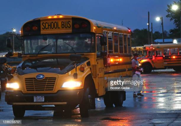 With the major shortage of Boston Public School bus drivers, there were be delays in the very early morning at the Transdev headquarters on Freeport...