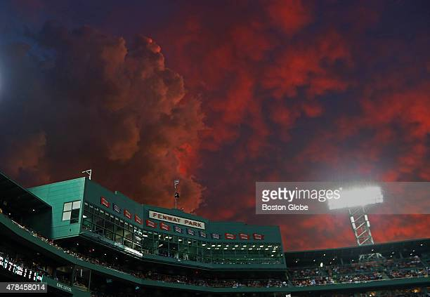 With the Red Sox last place team and possible changes on the horizon, storm clouds over Fenway Park are both figurative, and tonight at least,...