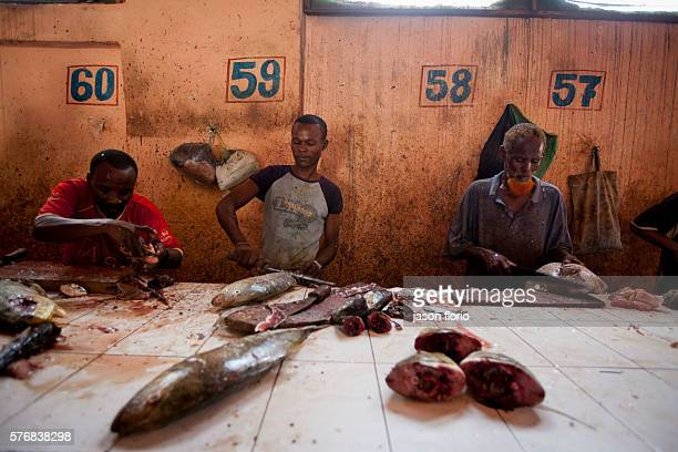 With the retreat of the Al Shabaab ismaists from central Mogadishu many businesses have fully reopened including the main fish market