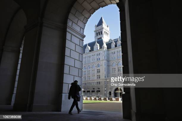 With the Trump International Hotel Washington standing across the street the normally busy Ronald Reagan Building and International Trade Center is...