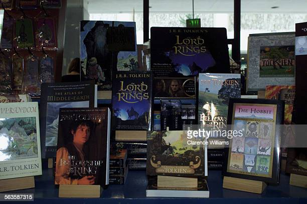 With the upcoming releas of the film verision of JRR Tolkien's Lord ot the Rings the west side bookstore Storyopolis has a nice display of the books