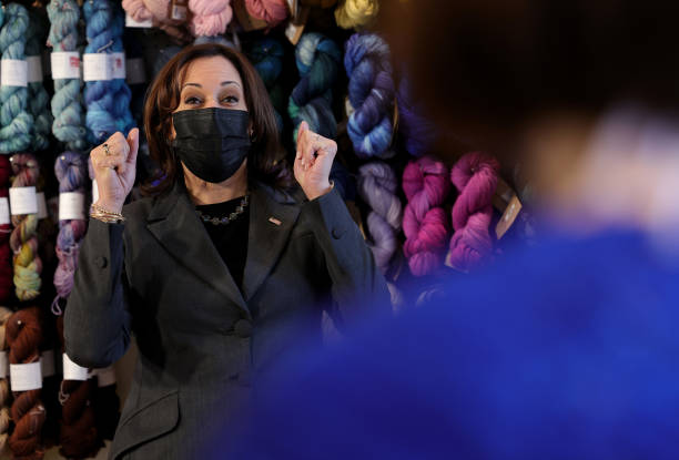 VA: Vice President Harris Visits Local Small Business