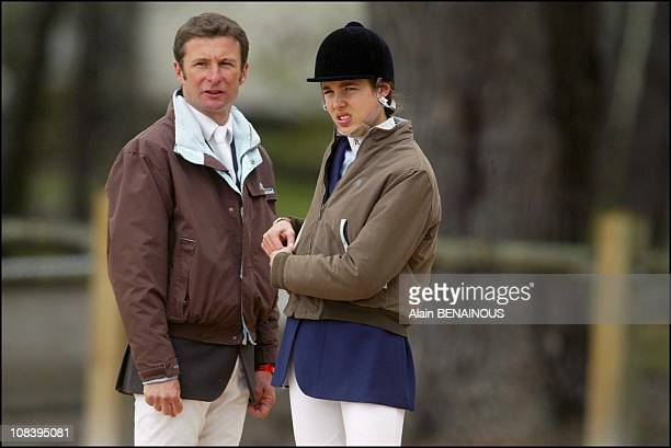 With trainer Thierry Rozier in Fontainebleau France on April 30 2004