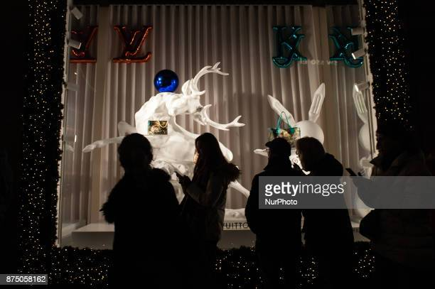 With Turn on the Lights Amsterdam's luxury department store quotde Bijenkorfquot opens the festive season in brilliant spectacle and festive cheer...